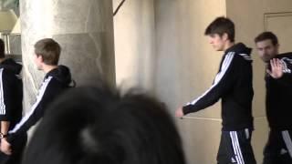 2012年12月15日、横浜の某ホテルに宿泊していたらチェルシーに偶然出会...