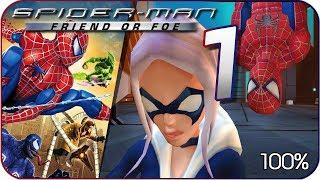 Spider-Man: Friend or Foe Walkthrough Part 1 • 100% (X360, Wii, PS2, PC) Tokyo • Industrial Plant