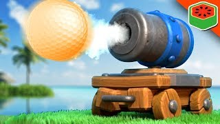 Collision CATASTROPHE - Hole In One Challenge | Golf It