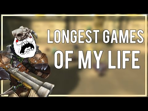 LONGEST GAMES IN MY LIFE - (Survival Hunter PvP) Warlords of Draenor 6.2.3