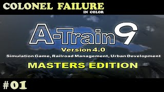 A-Train 9 v4 Part 1 : Japan Railway Simulator Gameplay