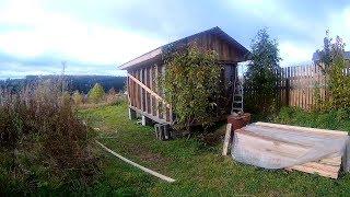 Зимний курятник своими руками ч.2  жизнь в деревне  ЛПХ Лесные Тропы