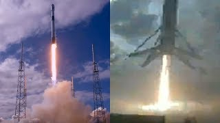 SpaceX Starlink launch & Falcon 9 first stage landing