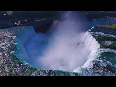 Niagara Falls & Area - 4K (Ultra HD) Aerial Video using DJI Phantom 4