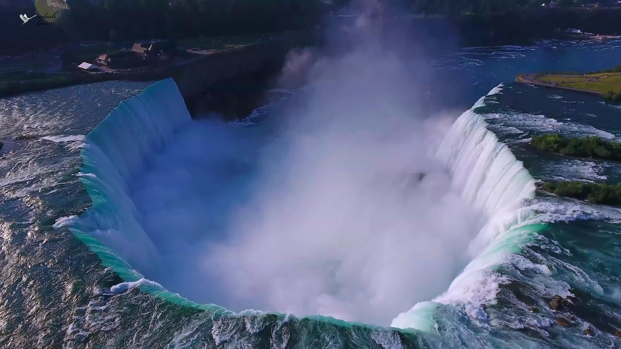 Niagara Falls & Area - 4K (Ultra HD) Aerial Video using