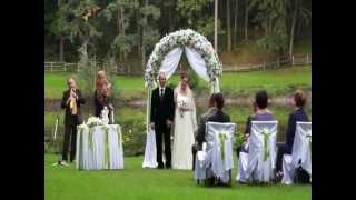 Выездной церемонии в Харькове. Оформление, проведение, свадебные аксессуары. Песочная церемония.