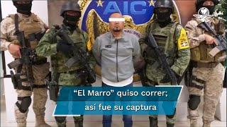 En la reconstrucción de la captura de José Antonio Yépez Ortiz, El Marro, Héctor de Mauleón relata el intento por escapar del líder criminal