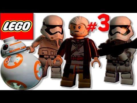 КЬЮБАЙТ в LEGO Star Wars: The Force Awakens!