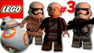 Мультик игра лего Звездные войны [3] Первый орден охотится за майнкрафтом Люка Скайуокера