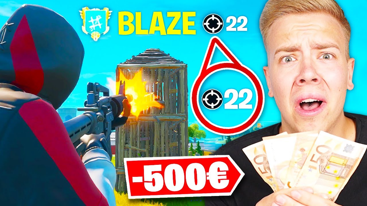 AviveHD gibt mir 50€ PRO KILL 😲 in Fortnite Battle Royale!