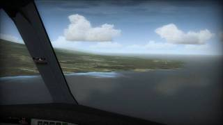 Flight Simulator X - Realistic A330 Landing In Hawaii