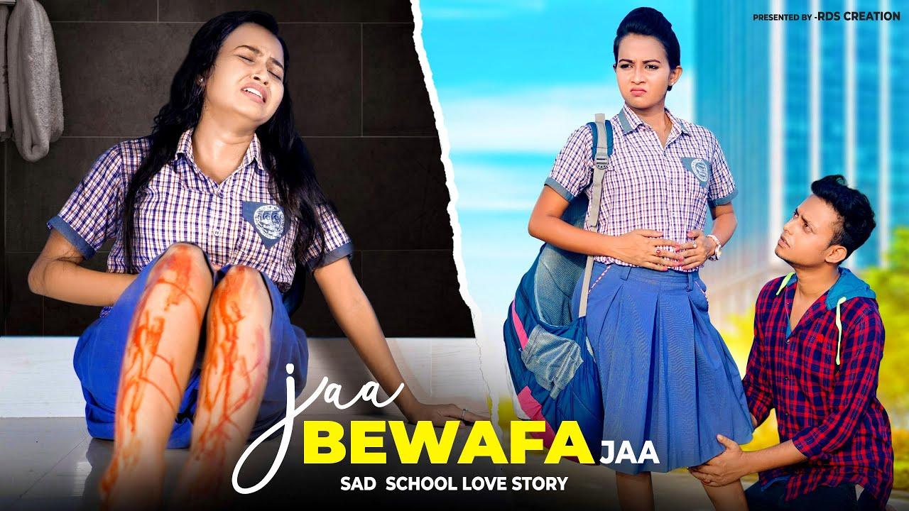Jaa Bewafa Jaa | School Student Pregnant | Heart Touching School Love Story | Hindi Sad Songs