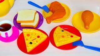 Видео для Детей – Игрушечная кухня готовим пиццу и жарим хлеб  Videos for Kids   Toy Kitchen(Videos for Kids - Toy Kitchen . Детское видео для любого ребенка: Игрушечная кухня готовим вкусную пиццу и жарим хлеб..., 2015-12-24T13:31:48.000Z)