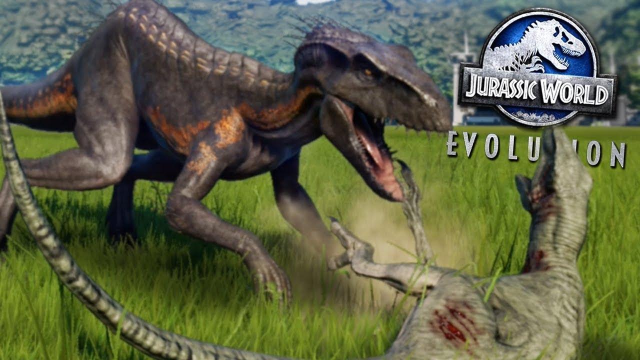 Download INDORAPTOR KILLING SPREE! - ALL NEW DLC DINOSAURS! - Jurassic World Evolution