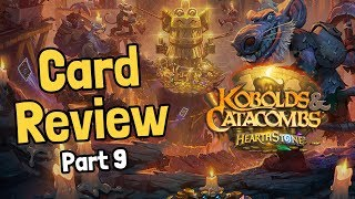 A Demon, a Dragon, and Spiders - Kobolds Card Review Part 9 - Hearthstone