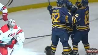 Brian Flynn Goal - Buffalo Sabres v Carolina Hurricanes - January 23 2014