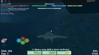 Roblox Dinosaur Simulator-Spinosaurs gameplay
