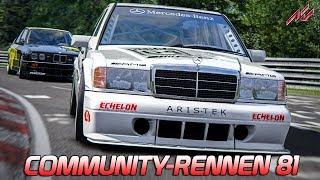 DTM-Action - CR #81 - LIVE | Assetto Corsa [HD] Mercedes-Benz 190E 2.5 EVO 2 @Nordschleife