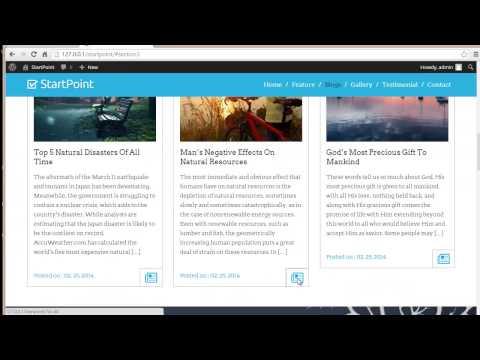 Style your Blog Post   StartPoint WordPress Theme