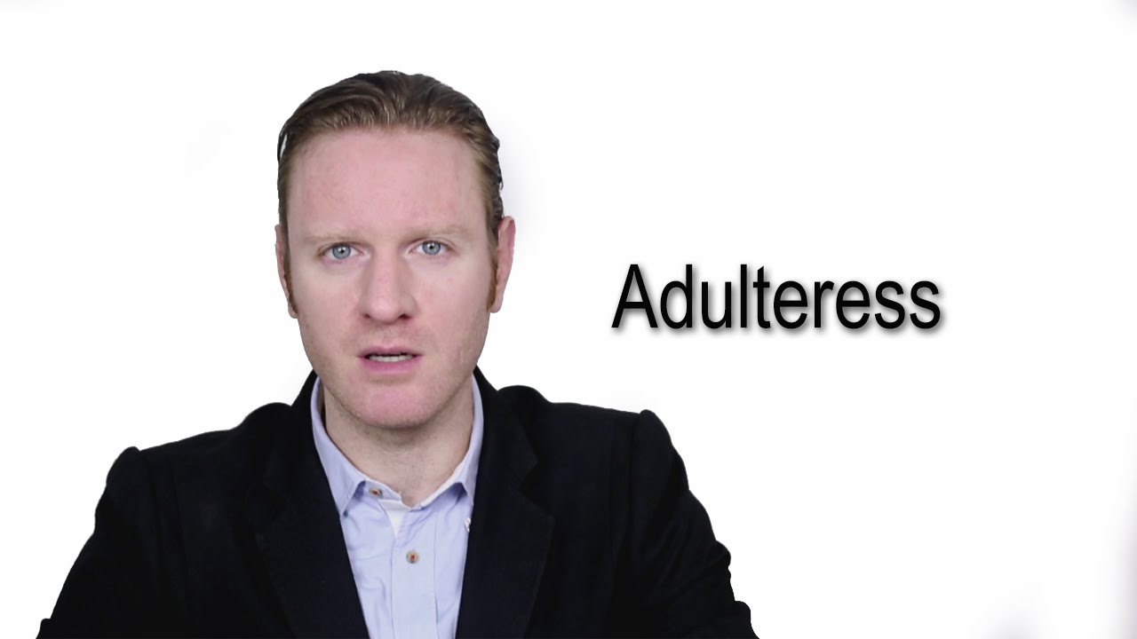 Adulteress- Meaning | Pronunciation || Word Wor(l)d - Audio Video Dictionary