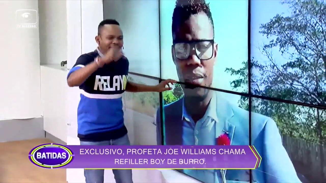 JOE WILLIAMS CHAMA REFILLER BOY DE BURRO
