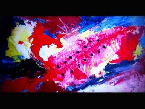 unhow to paint an abstract painting - come dipingere un quadro ...