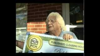 Publishers Clearing House $30,000 Prize Winner