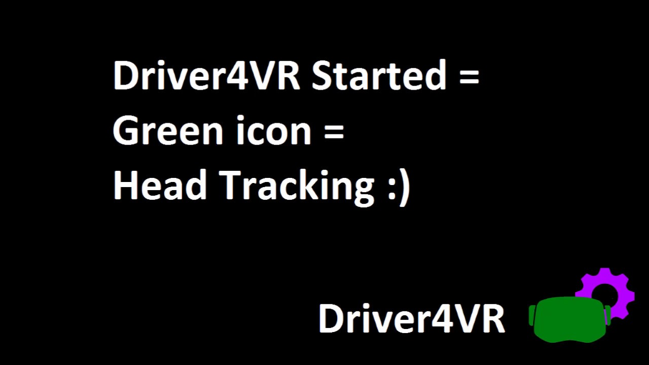 Driver4VR - enhance your VR | Body Tracking Head Tracking HTC Vive