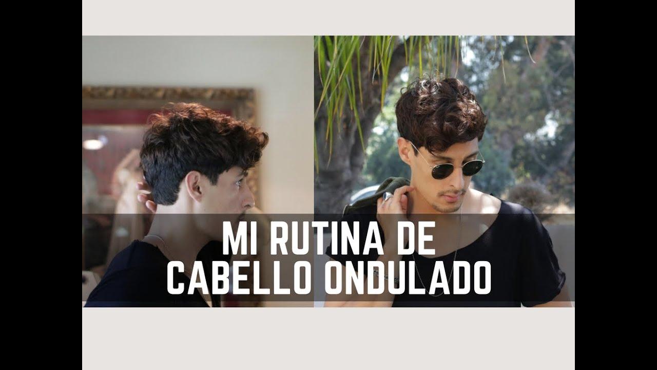 Peinado De Hombre Rutina De Cabello Ondulado Natural En Espanol