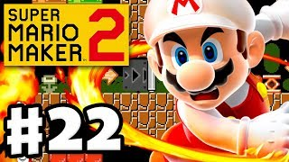 Superball Flower vs. Fire Flower! - Super Mario Maker 2 - Gameplay Walkthrough Part 22