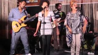 Zewdy, Zebeeb, and Habte Awalom at Afro Beat Addis - Addis Abeba January 2016