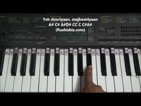 Mushkil Bada Yeh Pyaar Hai - Piano Tutorials - Gupt | 7013658813 - PDF NOTES/BOOK - WHATS APP US