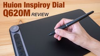 Review: Huion Inspiroy Dial Q620M wireless tablet
