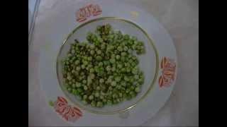 Жареный горох.Fried peas