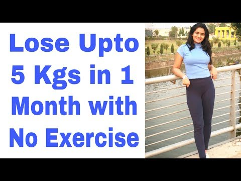 How to LOSE WEIGHT BELLY FAT Fast without Exercise   Weight Loss Diet Tips for Busy Working People