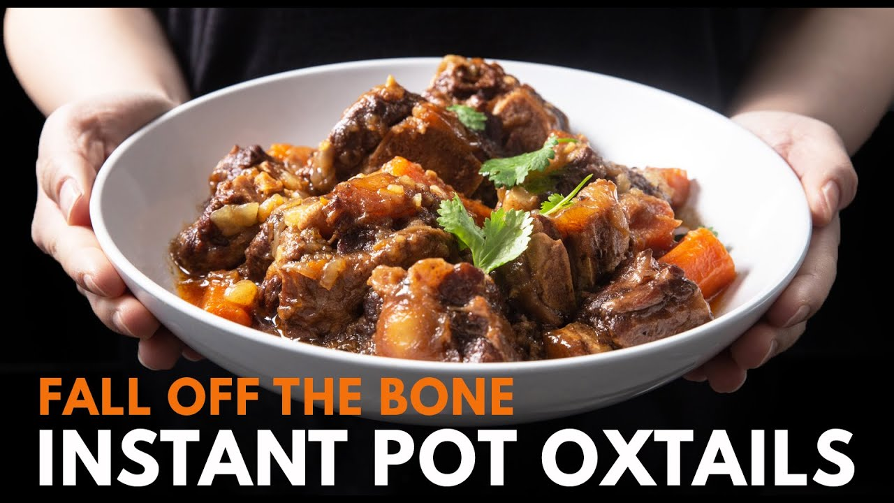 Instant Pot Oxtail Pressure Cooker Tested By Amy Jacky