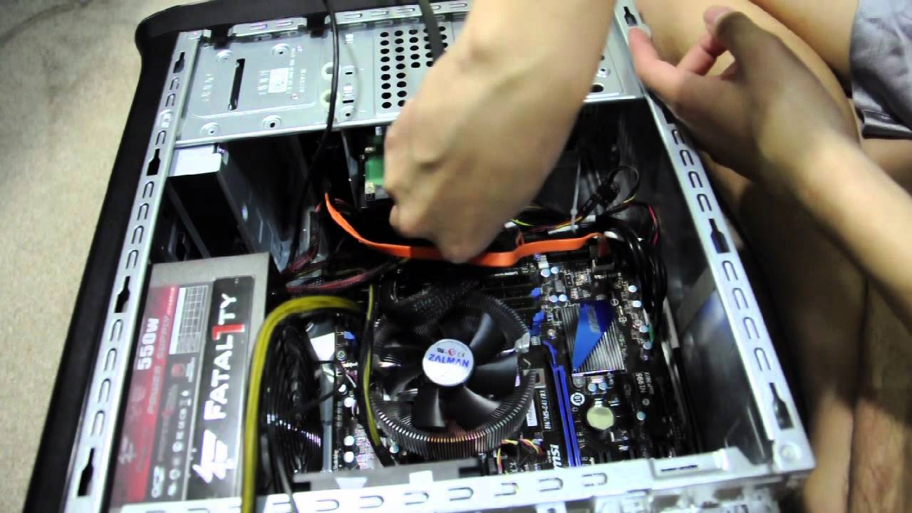 How to build your first computer Part 3 - Final assembly ...