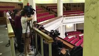 Перший день роботи журналістів у Верховній Раді після карантину