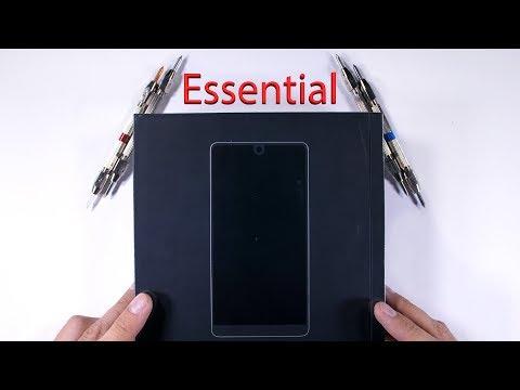 Essential Phone Durability Test - Titanium Scratch Test!!