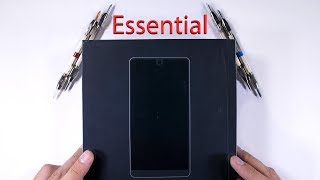 Essential Phone Durability Test - Titanium Scratch Test!!