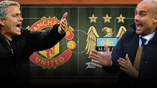 Pep's Man City vs Jose's Man United: The Future Manchester Derby | Copa90 & Top Eleven Animation