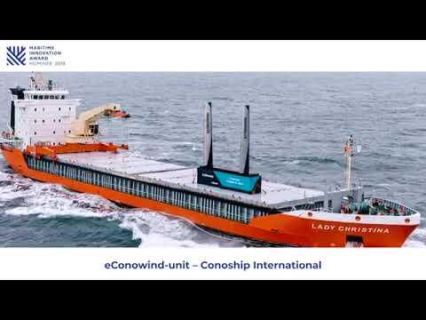 eConowind unit van CONOSHIP is genomineerd voor de Maritime Innovation Award 2019!