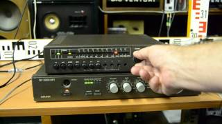 ST 210 Tuner VEB Stern Radio Rochlitz and SV 3900 HiFi Stereo Amplifier RFT