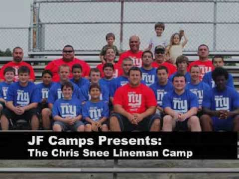 JF Camps Presents Chris Snee Lineman Camp