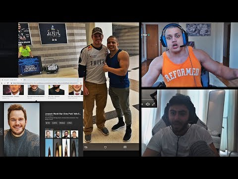 TYLER1 SHOWS HIS PICTURE WITH CHRIS PRATT | YASSUO ON MEASURING IT WITH HIS FRIENDS | LOL MOMENTS