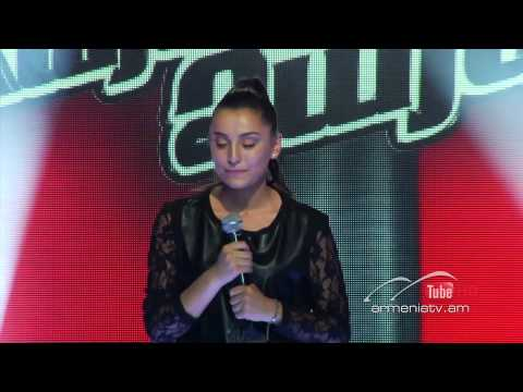 Anna Khanchalyan,Without You by Mariah Carey - The Voice Of Armenia - Blind Auditions - Season 2