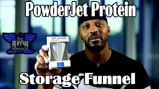 I went to Vitamin Shoppe to get some protein powder when I saw these PowederJet Storage Funnels in a bin for buy one get one %50 off. I bought one and ...
