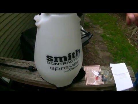 Smith Contractor Sprayer Youtube
