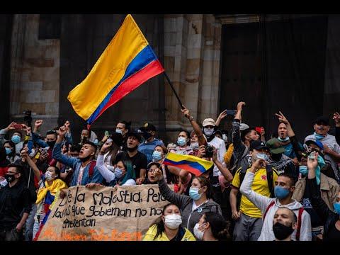AMLO DICE QUE MÉXICO NO INTERVENDRÁ POR REPRESIÓN EN COLOMBIA