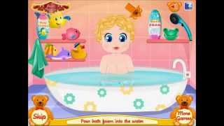 Barbies Perfect Baby Game - Fun Baby Games - New Baby Bathing Games